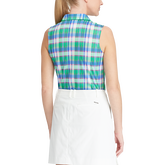 Alternate View 1 of Sleeveless Tailored Fit Golf Polo Shirt