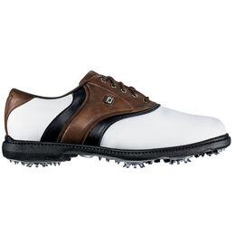 FootJoy Originals Men's Golf Shoe - White/Brown