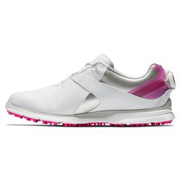 Pro|SL BOA Women's Golf Shoe - White/Silver