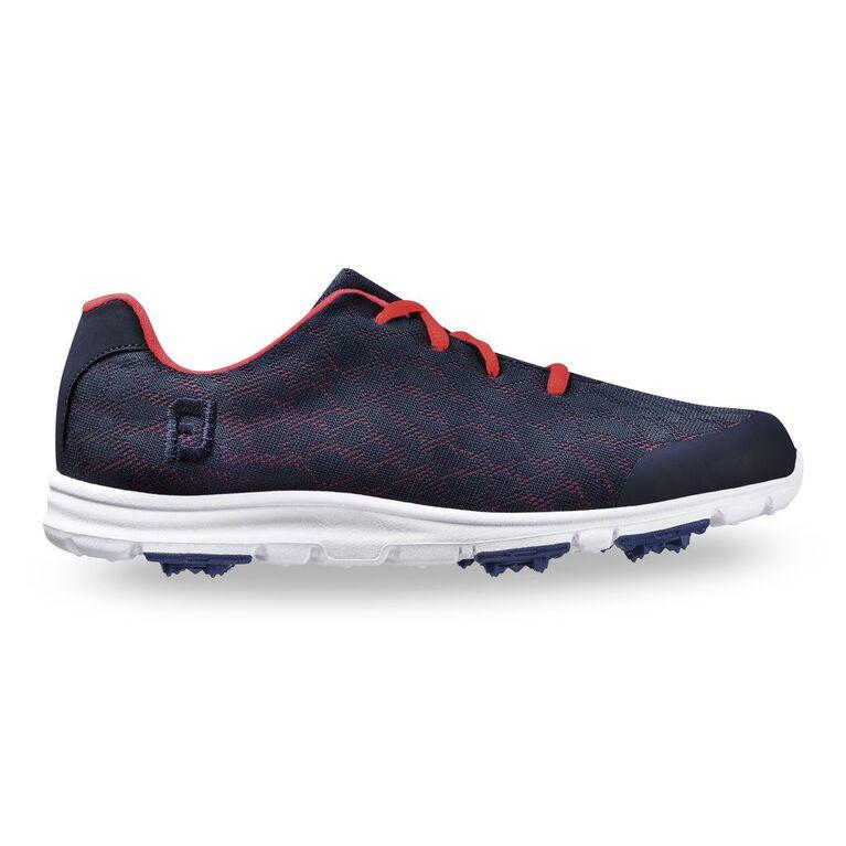 FootJoy enJoy Spikeless Women's Golf Shoe - Navy/Pink