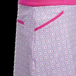 Girls Printed Golf Skort
