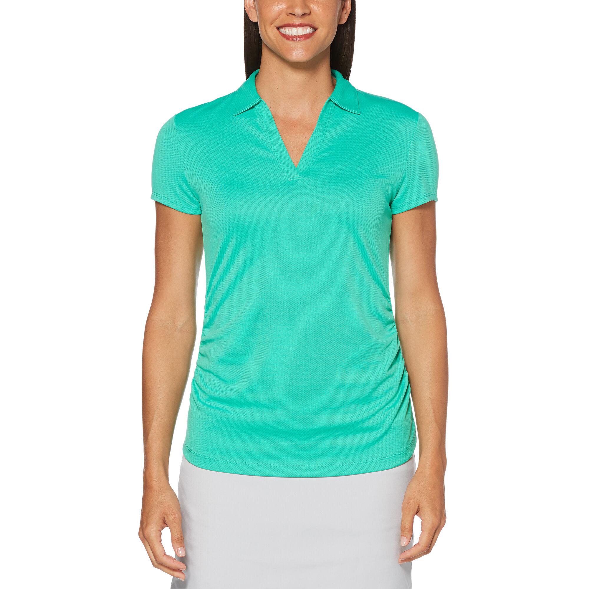 PGA TOUR Womens Short Sleeve Airflux Polo