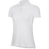 Alternate View 3 of Dri-FIT Short Sleeve Dot Striped Ace Women's Golf Polo