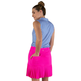"""Alternate View 6 of Rojito Collection:  Knife Pleat 15"""" Golf Skort"""