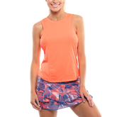 Alternate View 1 of Reflex Stitch Down Shine Print Tiered Skirt