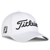 Alternate View 1 of Tour Elite White Collection Hat