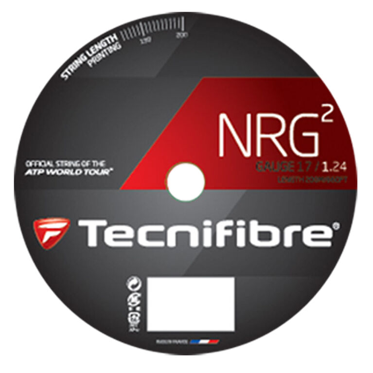 Tecnifibre NRG2 17 Gauge String Reel - Black