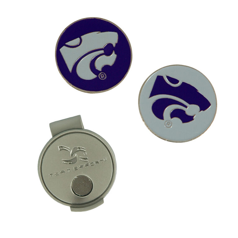 Team Effort Kansas State Wildcats Hat Clip