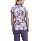 Alternate View 2 of Impatiens Collection: Short Sleeve Floral Polo Shirt