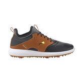 IGNITE PWRADAPT CAGED Crafted Men's Golf Shoe - Black/Brown
