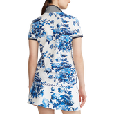 Alternate View 4 of Porcelain Floral Print Short Sleeve Polo