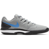 Alternate View 3 of Air Zoom Prestige Men's Tennis Shoe - Grey/Blue
