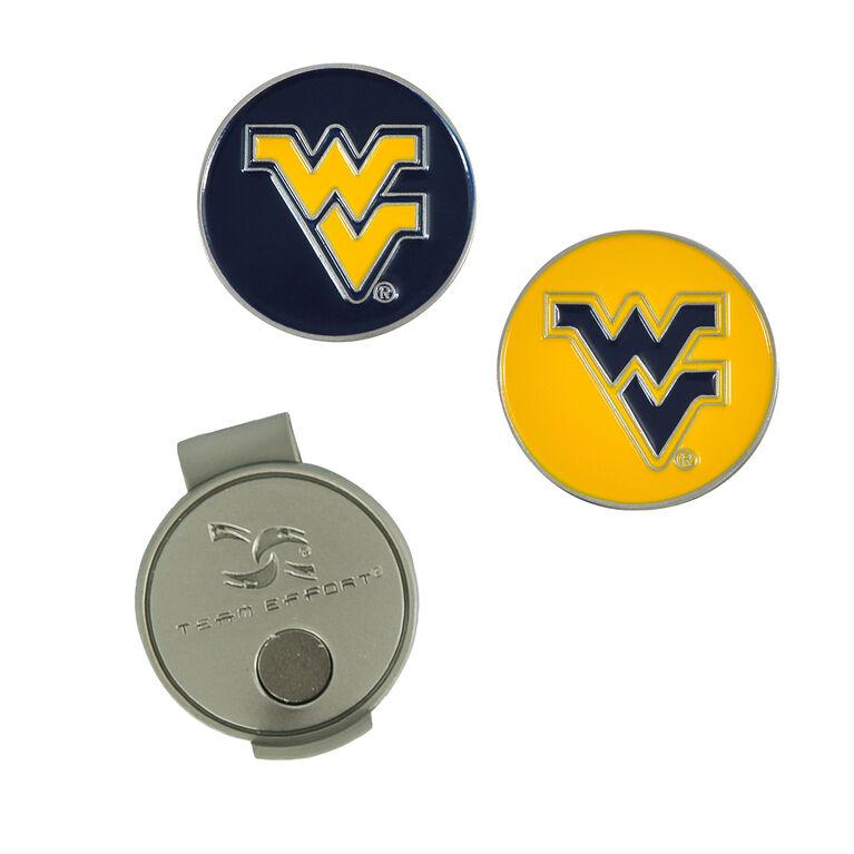 Team Effort West Virginia Mountaineers Hat Clip