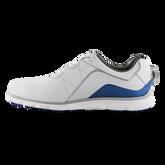 Alternate View 1 of Pro/SL BOA Men's Golf Shoe - White/Blue (Previous Season Style)