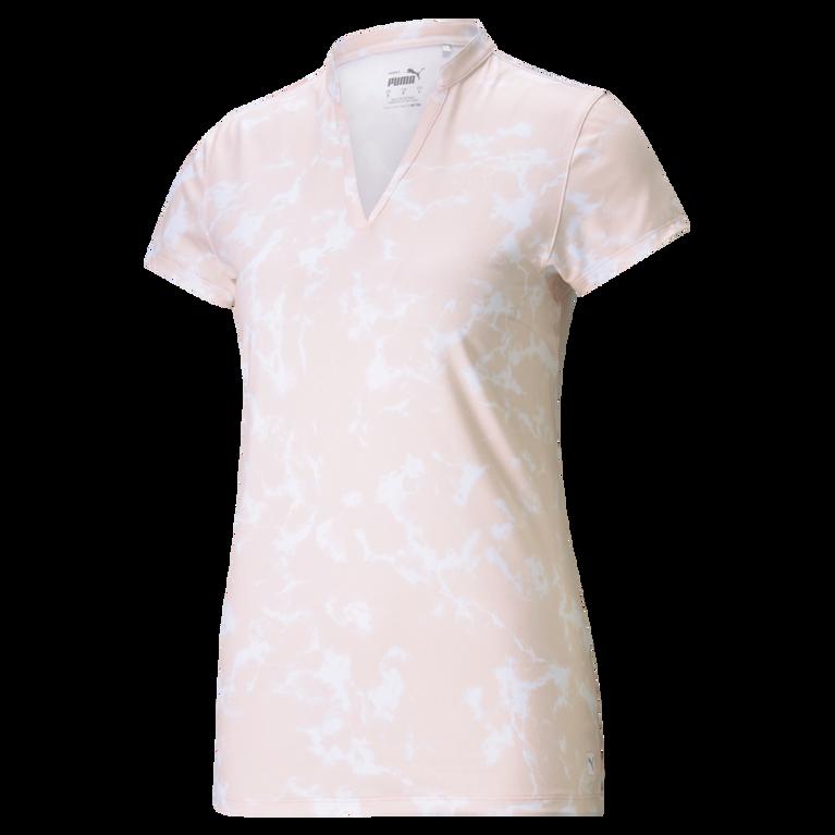 Cloudspun Marble Short Sleeve Polo Shirt