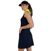 Alternate View 1 of Limonata Collection: Colorblock Sleeveless Dress