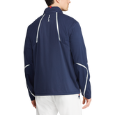 Alternate View 1 of Paneled Interlock Golf Jacket