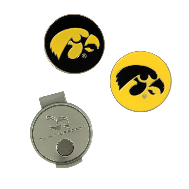 Team Effort Iowa Hawkeyes Hat Clip