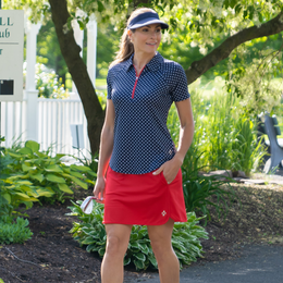Cape May Collection: Petal Hem Golf Skort