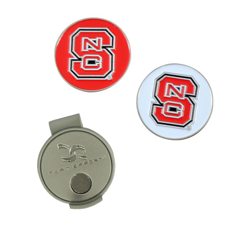 Team Effort NC State Wolfpack Hat Clip