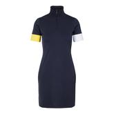 Alternate View 4 of Ines Short Sleeve Mock Neck Dress