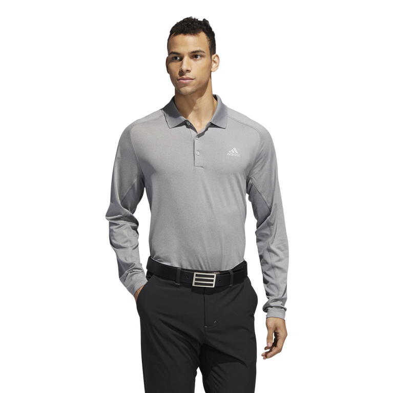 Ultimate Climacool Long Sleeve Solid Polo Shirt