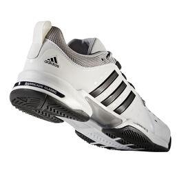 adidas Barricade Classic Wide 4E Men's Tennis Shoe - Black/Silver