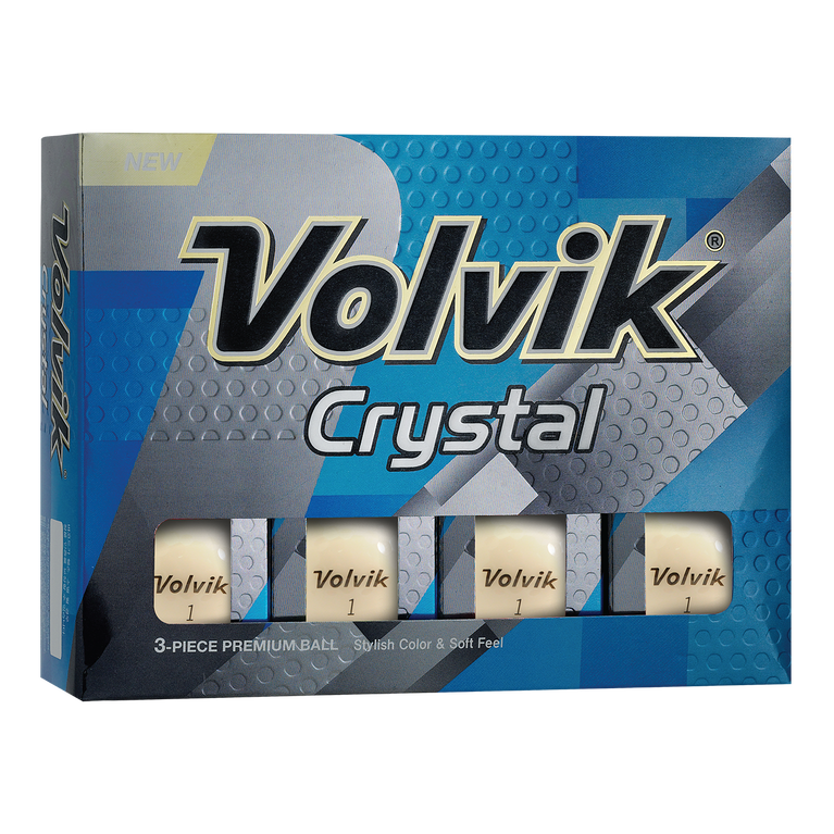 Crystal White Golf Balls