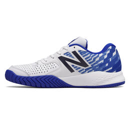 New Balance 696v3 Men's Tennis Shoe - White/Royal