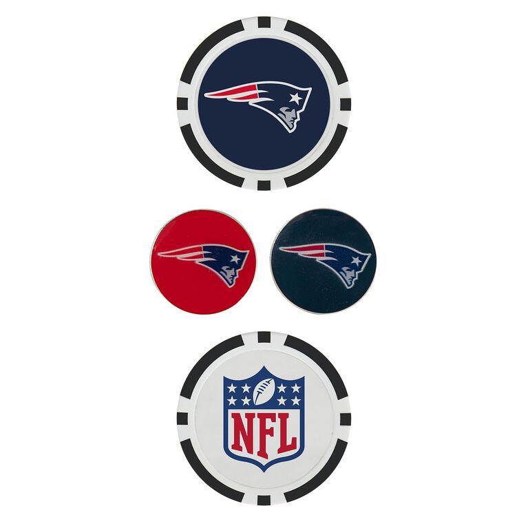 Team Effort New England Patriots Ball Marker Set