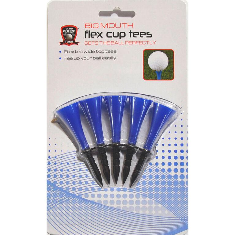 Flex Cup Tees - 5 Pack