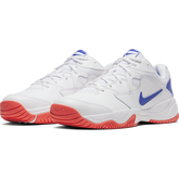 Alternate View 6 of NikeCourt Lite 2 Men's Hard Court Tennis Shoe - White/Royal