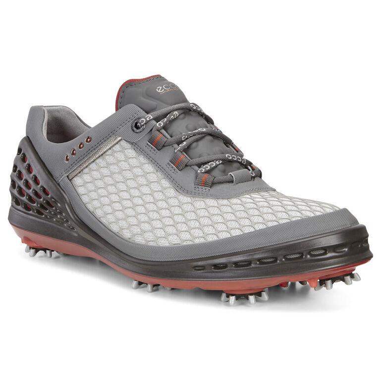 ECCO Cage EVO Men's Golf Shoe - Grey/Red