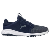 GRIP FUSION Sport Men's Golf Shoe - Navy/White