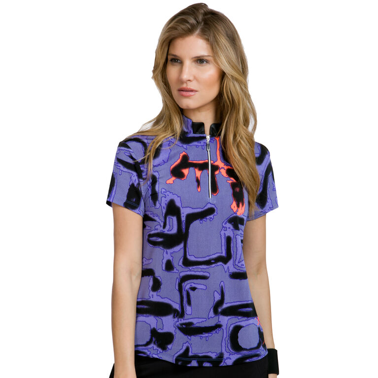 Pippin Group: Shadow Print Top