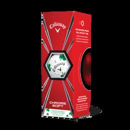 Chrome Soft Truvis Shamrock Golf Ball