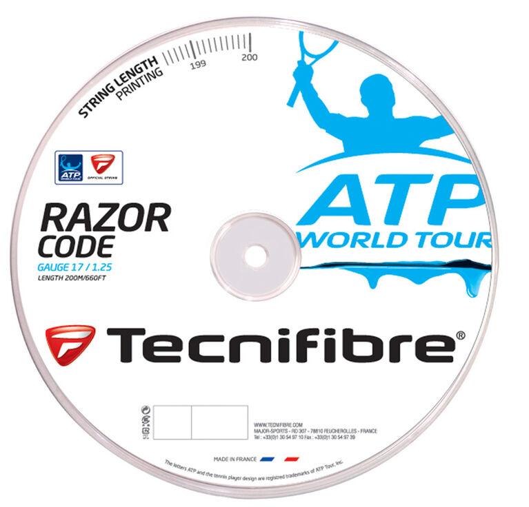 Tecnifibre ATP Razor Code 17 Gauge String Reel - Carbon