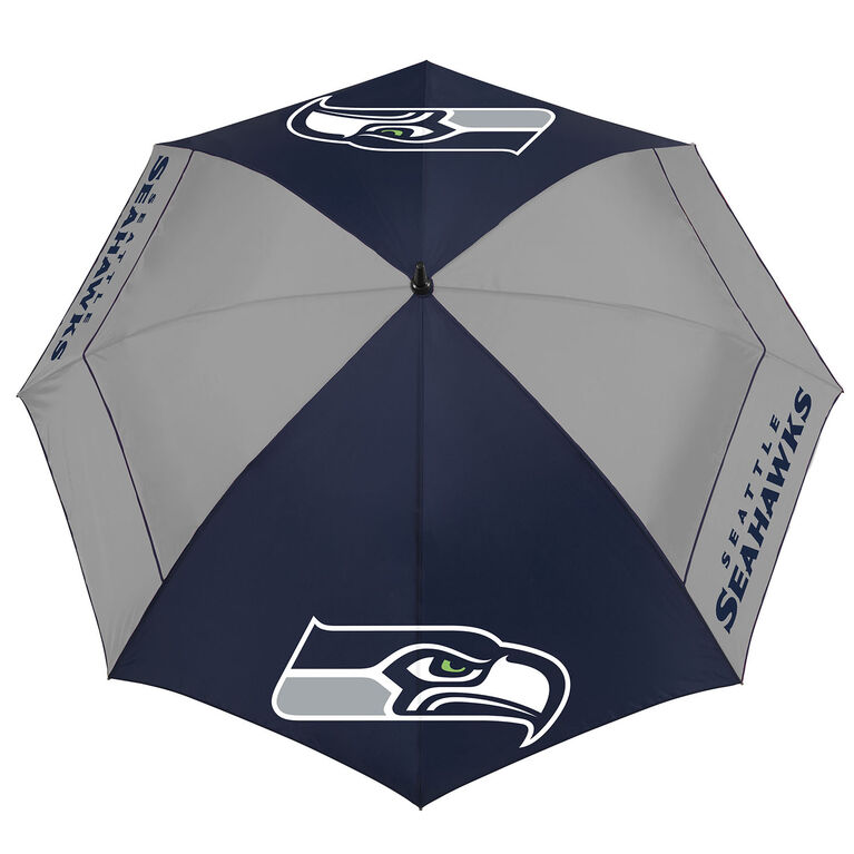 "Team Effort Seattle Seahawks 62"" WindSheer Lite Umbrella"