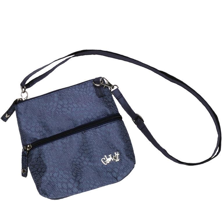 Chic Slate Zip Bag