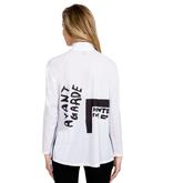 Alternate View 1 of Sunsense: Mock Avant Garde Sweater