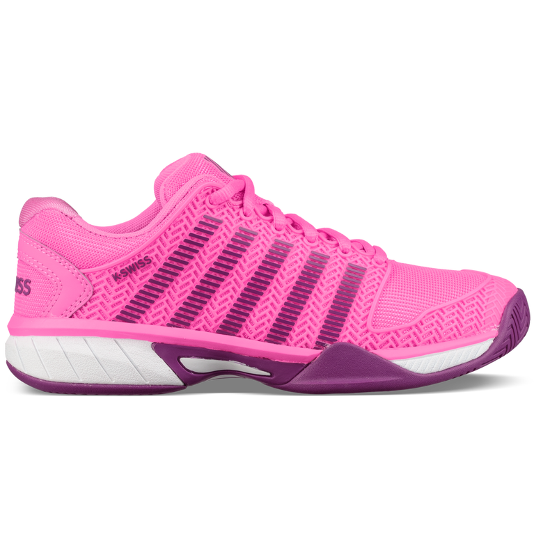 K-Swiss Hypercourt Express Girls Tennis Shoe - Pink