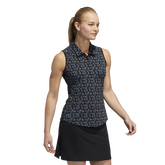 Alternate View 1 of Ultimate Sleeveless Stripe Polo Shirt
