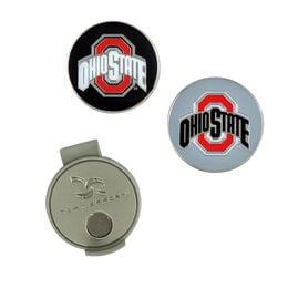 Team Effort Ohio State Buckeyes Hat Clip
