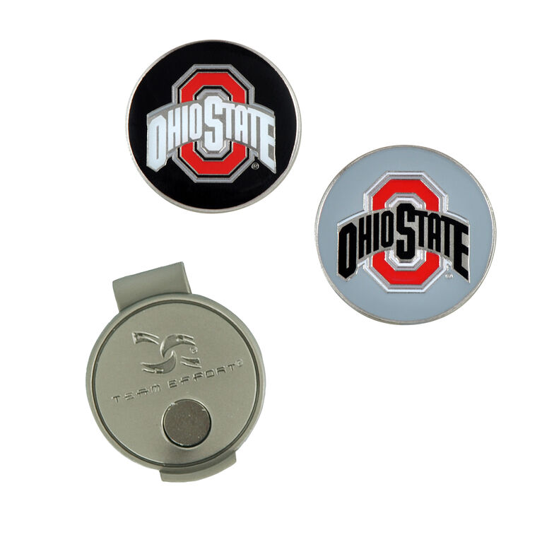 Team Effort Ohio State Buckeyes Hat Clip