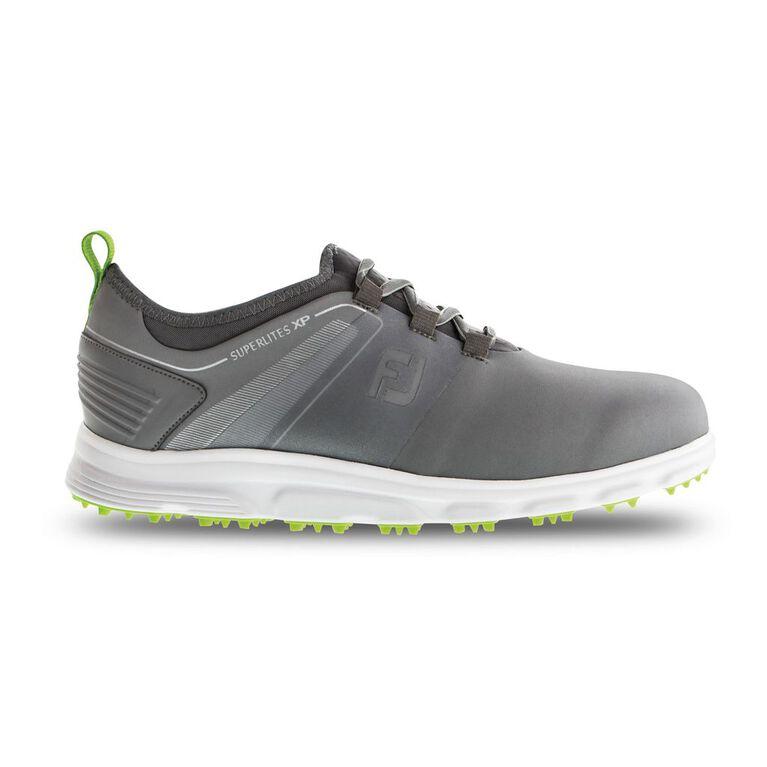 SuperLites XP Men's Golf Shoe - Grey/Green (Previous Season Style)