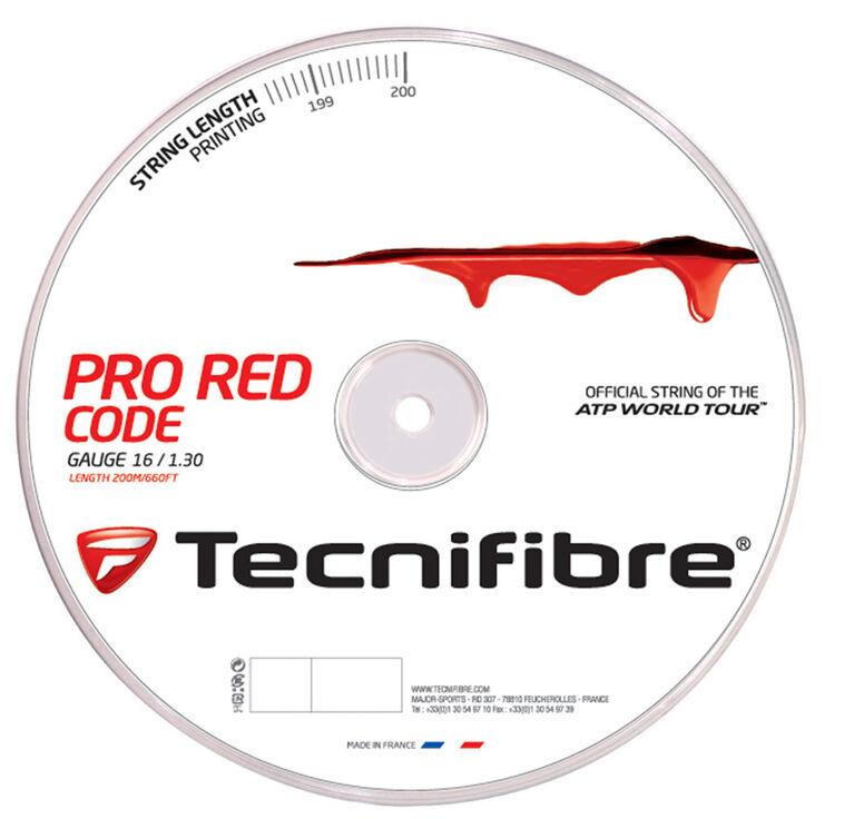 Tecnifibre Pro Red Code 16 Gauge String Reel - Red