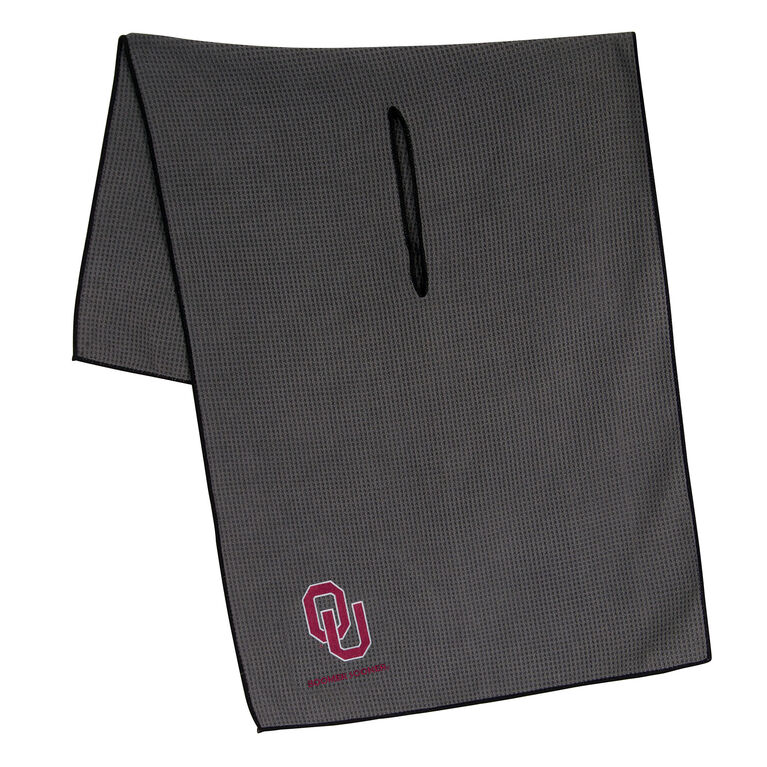 Team Effort Oklahoma Sooners Microfiber Towel