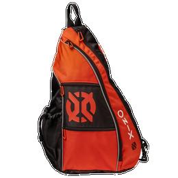 Pickleball Pro Team Sling Bag - Orange/Black