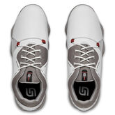 Alternate View 4 of Spieth 4 Junior Golf Shoe - White/Silver