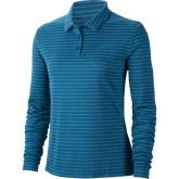 Alternate View 4 of Dri-Fit Long Sleeve Striped Polo Shirt